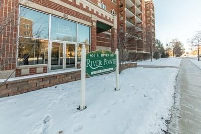 650 S RIVER Road UNIT 411, Des Plaines, IL 60016 - MLS#: 09861080