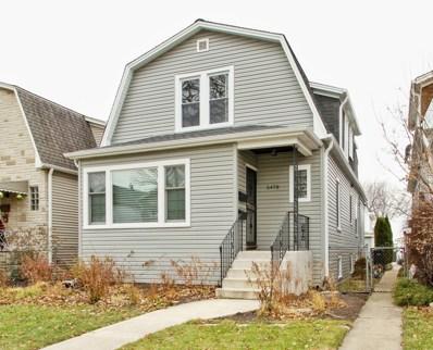 5478 N Monitor Avenue, Chicago, IL 60630 - MLS#: 09862842