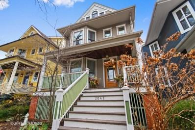 2041 W Bradley Place, Chicago, IL 60618 - MLS#: 09865066