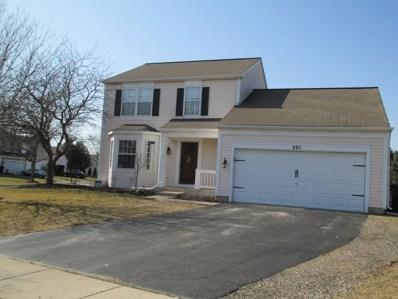 201 Verbena Lane, Woodstock, IL 60098 - #: 09871479