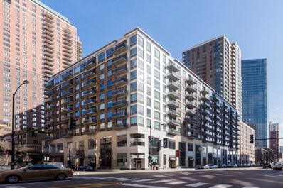 1 E 8TH Street UNIT 610, Chicago, IL 60605 - MLS#: 09874805