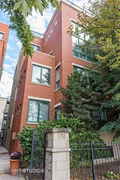 1703 N Sheffield Avenue UNIT 3, Chicago, IL 60614 - MLS#: 09876450