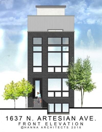 1637 N Artesian Avenue UNIT 2, Chicago, IL 60647 - MLS#: 09881145