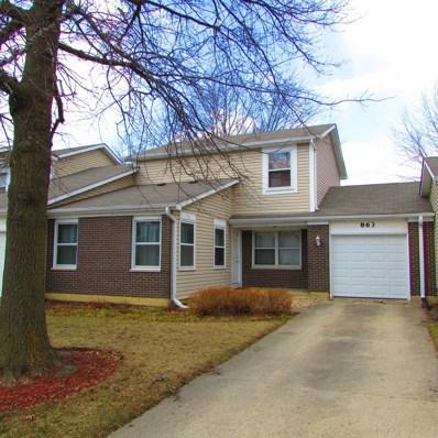 863 Colony Lake Drive, Schaumburg, IL 60194 - MLS#: 09882183
