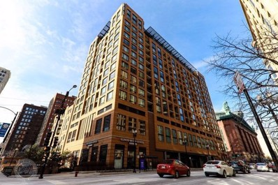 520 S STATE Street UNIT 813, Chicago, IL 60605 - MLS#: 09885211