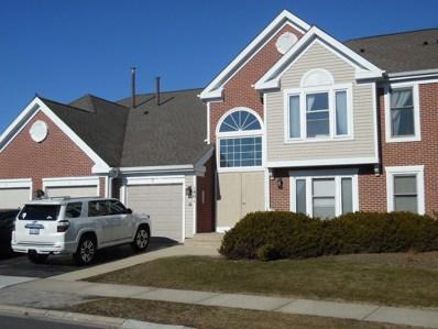 1801 Fox Run Drive UNIT D4, Elk Grove Village, IL 60007 - MLS#: 09887162