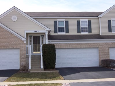 1443 Westhampton Drive, Plainfield, IL 60586 - MLS#: 09887329