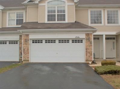1714 S Fieldstone Drive, Shorewood, IL 60404 - MLS#: 09887802