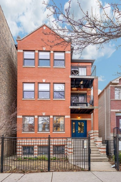 1652 N Fairfield Avenue UNIT 1, Chicago, IL 60647 - MLS#: 09891505
