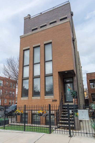 2458 W WALTON Street UNIT 3, Chicago, IL 60622 - MLS#: 09891799