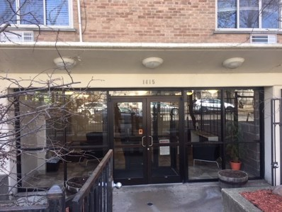 1415 W Lunt Avenue UNIT 410, Chicago, IL 60626 - MLS#: 09892776