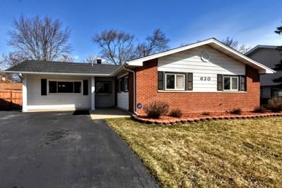630 Jamison Lane, Hoffman Estates, IL 60169 - MLS#: 09892960