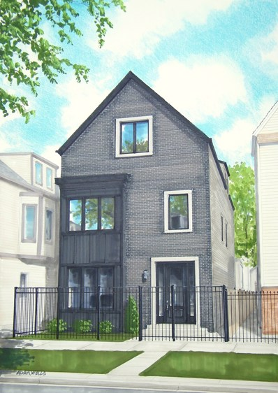 1643 N Washtenaw Avenue, Chicago, IL 60647 - MLS#: 09896530