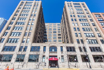 728 W JACKSON Boulevard UNIT 712, Chicago, IL 60661 - MLS#: 09897266
