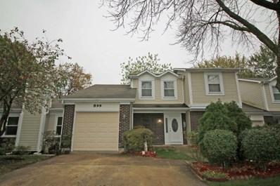 899 Colony Lake Drive, Schaumburg, IL 60194 - MLS#: 09897344