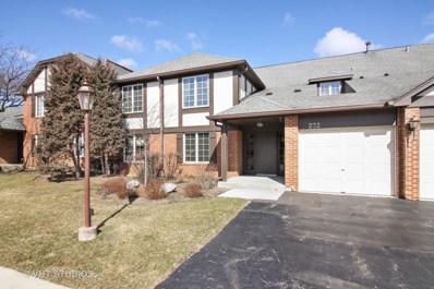 232 Stanhope Drive UNIT C, Willowbrook, IL 60527 - MLS#: 09898620