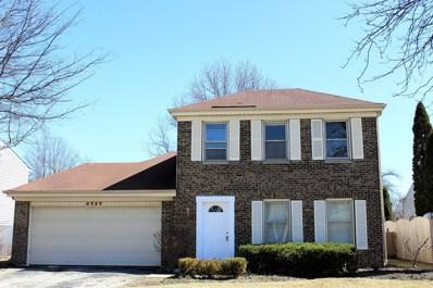 4969 Chambers Drive, Hoffman Estates, IL 60010 - MLS#: 09902759