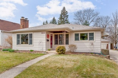 910 N Cross Street, Wheaton, IL 60187 - MLS#: 09904188
