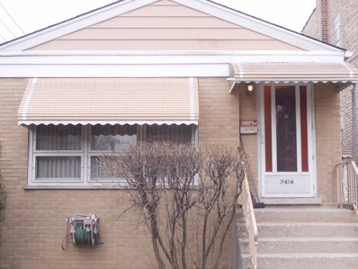 2414 N Lowell Avenue, Chicago, IL 60639 - MLS#: 09911190