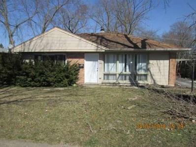 370 Blackhawk Drive, Park Forest, IL 60466 - #: 09913350