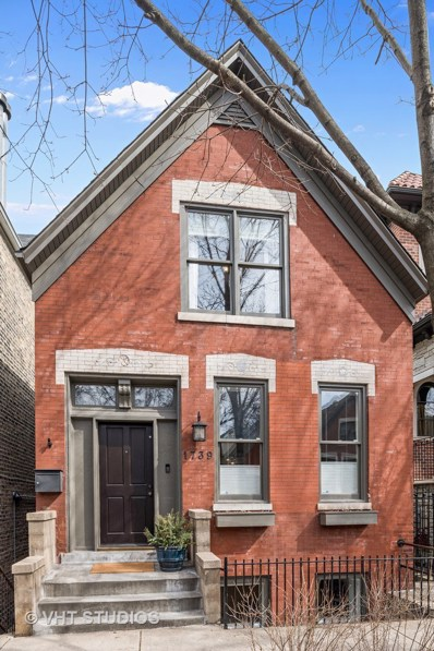 1739 N Honore Street, Chicago, IL 60622 - MLS#: 09913714