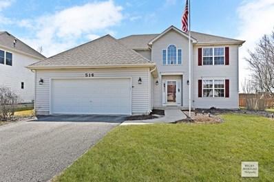516 Chestnut Drive, Oswego, IL 60543 - MLS#: 09914929