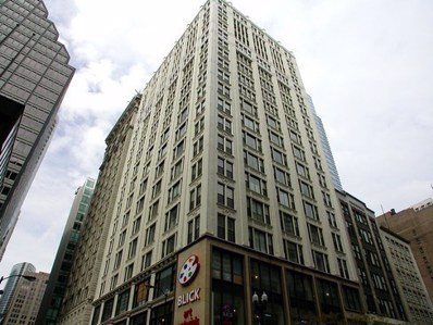 8 W Monroe Street UNIT 1703, Chicago, IL 60603 - MLS#: 09915363