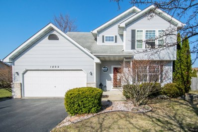 1809 Harvest Lane, Plainfield, IL 60586 - MLS#: 09915567