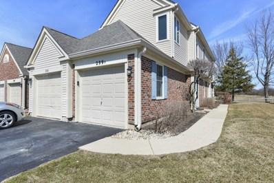 299 University Lane UNIT A, Elk Grove Village, IL 60007 - MLS#: 09921113