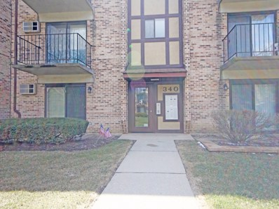 340 Klein Creek Court UNIT 340-A, Carol Stream, IL 60188 - MLS#: 09921301