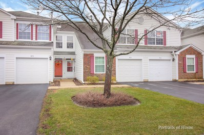 68 Adams Court UNIT A, Streamwood, IL 60107 - #: 09921593