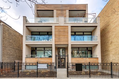 1522 W Huron Street UNIT 3W, Chicago, IL 60642 - MLS#: 09928045