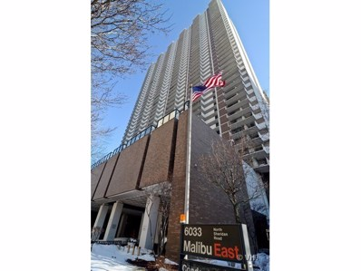 6033 N Sheridan Road UNIT 18J, Chicago, IL 60660 - MLS#: 09929446