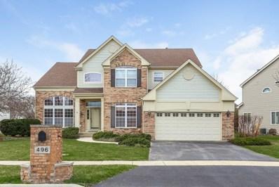 496 Cliffwood Lane, Gurnee, IL 60031 - MLS#: 09932056