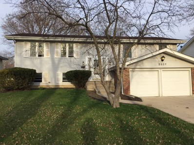 2037 W Parkview Circle, Hoffman Estates, IL 60169 - #: 09935043
