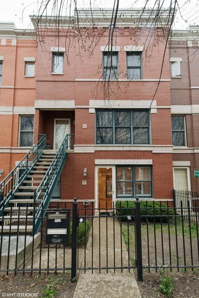 1328 W Fillmore Street UNIT A, Chicago, IL 60607 - MLS#: 09937213