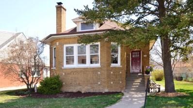 1419 Fowler Avenue, Evanston, IL 60201 - MLS#: 09939649