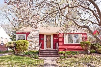 1306 Olive Road, Homewood, IL 60430 - MLS#: 09943582