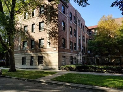1822 W CHASE Avenue UNIT G, Chicago, IL 60626 - MLS#: 09952006