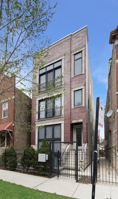 1022 N Wood Street UNIT 1, Chicago, IL 60622 - MLS#: 09952007
