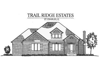 5N407  South Ridge (Lot 8) Lane, St. Charles, IL 60175 - #: 09956443