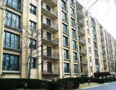 4601 W TOUHY Avenue UNIT 814, Lincolnwood, IL 60712 - MLS#: 09957995