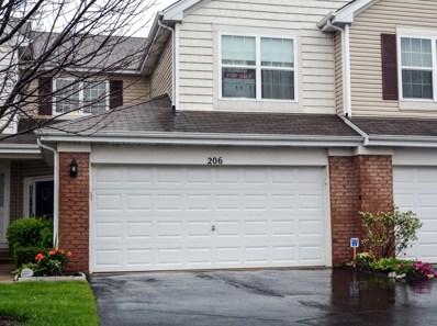 206 Wild Meadow Lane, Woodstock, IL 60098 - #: 09959290