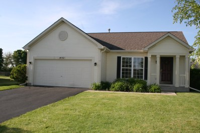 1452 Bluestem Lane, Minooka, IL 60447 - #: 09959889