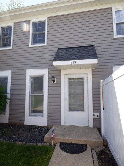 519 Northampton Lane, Roselle, IL 60172 - MLS#: 09965778