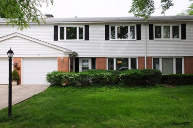 3 S Regency Drive WEST, Arlington Heights, IL 60004 - MLS#: 09967221