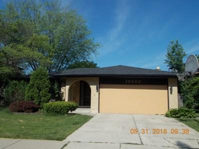 18562 MAY Street, Homewood, IL 60430 - MLS#: 09969674