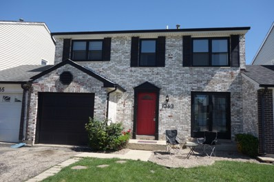 1363 Georgetown Drive, Carol Stream, IL 60188 - MLS#: 09973064