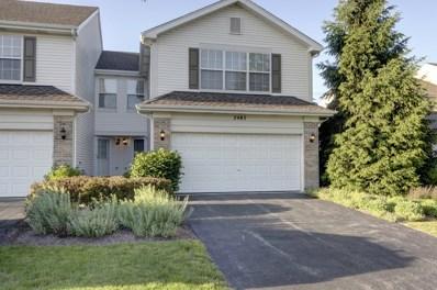 2485 Stoughton Circle UNIT 351506, Aurora, IL 60502 - #: 09974446