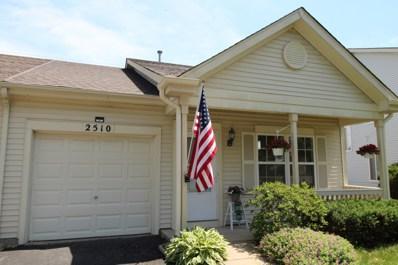 2510 Stonybrook Drive, Plainfield, IL 60586 - MLS#: 09977073